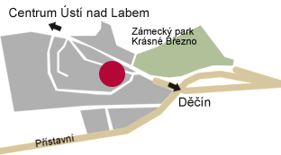 Autoservis ACKERMANN, Ústí nad Labem na mapě